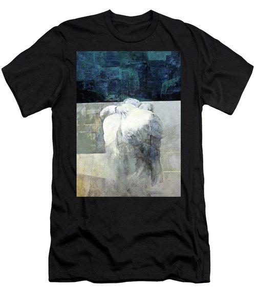Saying Goodbye Men's T-Shirt (Slim Fit) by Munir Alawi