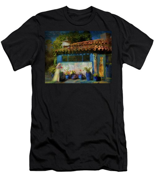 Saylor And The Cat Men's T-Shirt (Athletic Fit)