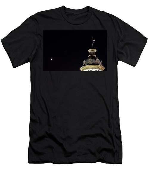 Sc State House Dome And Conjunction Men's T-Shirt (Athletic Fit)