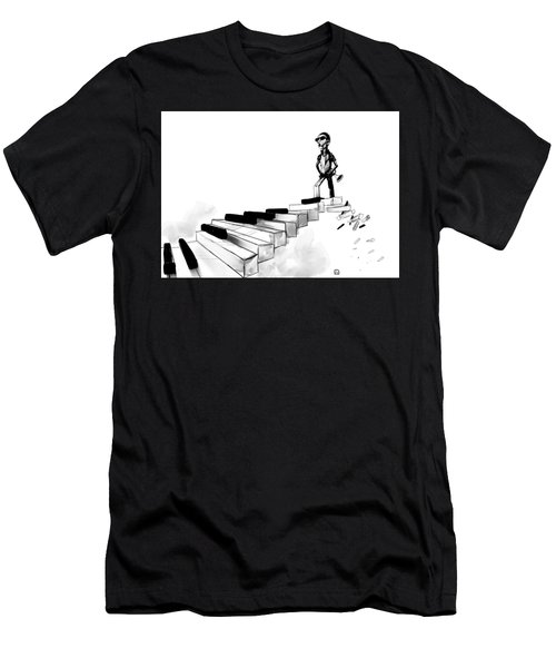 Scale To Heaven Men's T-Shirt (Athletic Fit)