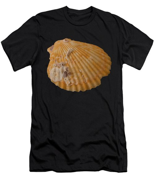 Scallop Shell With Guests Transparency Men's T-Shirt (Athletic Fit)