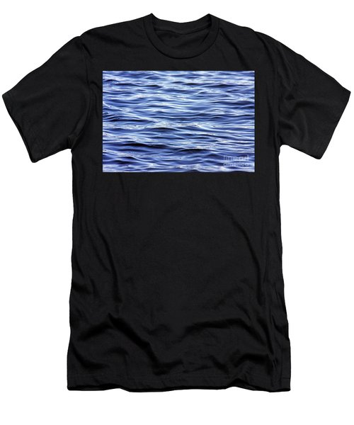 Scanning For Dolphins Men's T-Shirt (Athletic Fit)