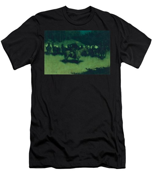 Scare In A Pack Train Men's T-Shirt (Athletic Fit)