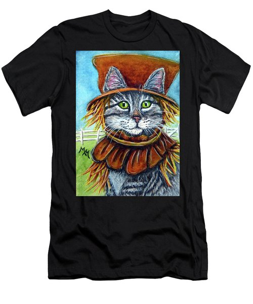 Scarecrow Tabby Men's T-Shirt (Athletic Fit)