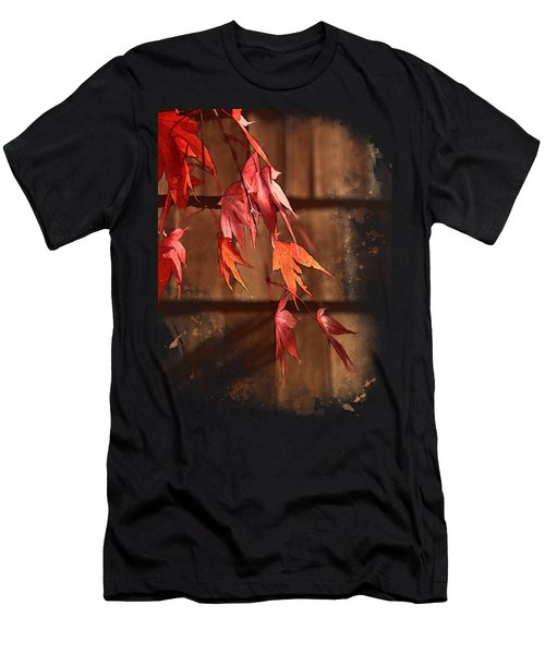 Scarlet Cascade Men's T-Shirt (Athletic Fit)