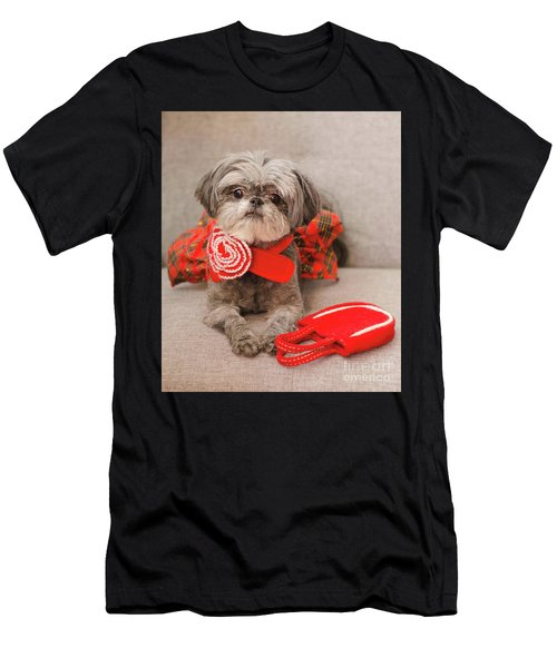 Scarlett And Red Purse Men's T-Shirt (Athletic Fit)