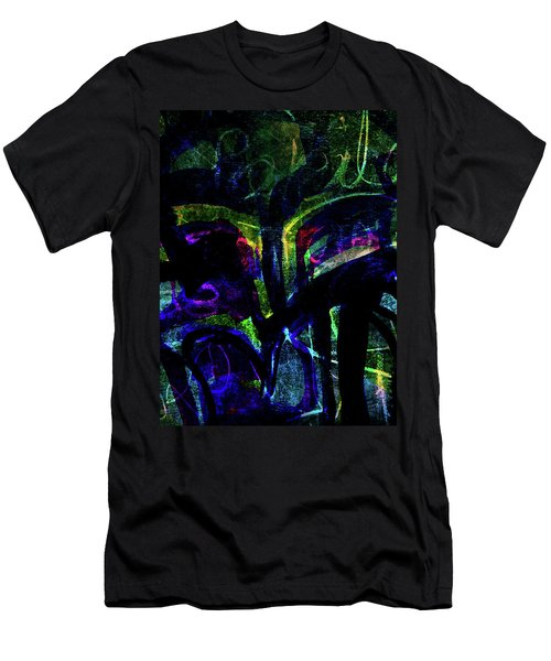 Scary Face-1 Men's T-Shirt (Athletic Fit)
