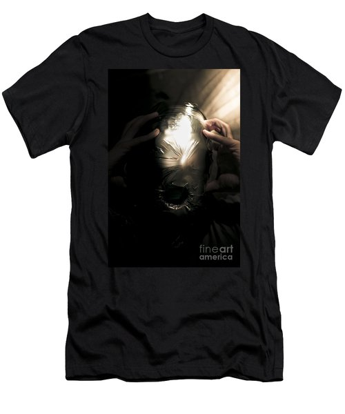 Scary Face Of Terror Men's T-Shirt (Athletic Fit)