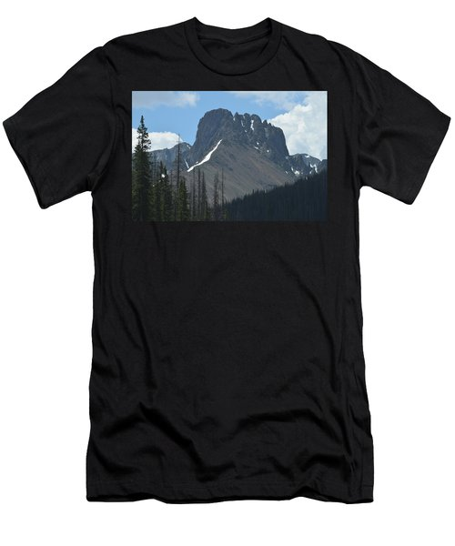 Mountain Scenery Hwy 14 Co Men's T-Shirt (Athletic Fit)