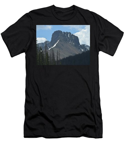Men's T-Shirt (Athletic Fit) featuring the photograph Mountain Scenery Hwy 14 Co by Margarethe Binkley