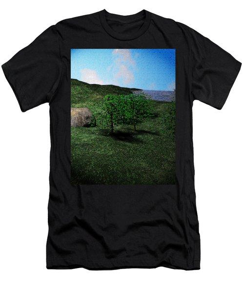 Scenery Men's T-Shirt (Slim Fit) by James Barnes