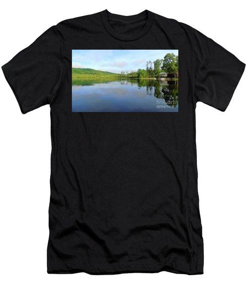 Scenic Gorham Pond #1 Men's T-Shirt (Athletic Fit)