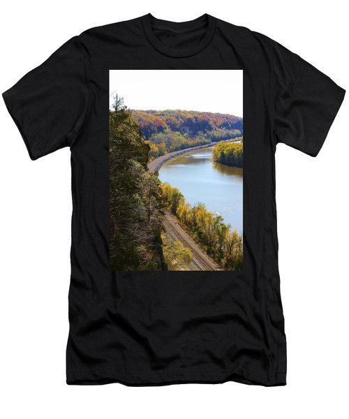 Scenic View Men's T-Shirt (Athletic Fit)