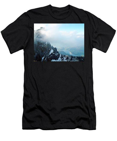 Schafberg Cliff Face Men's T-Shirt (Athletic Fit)