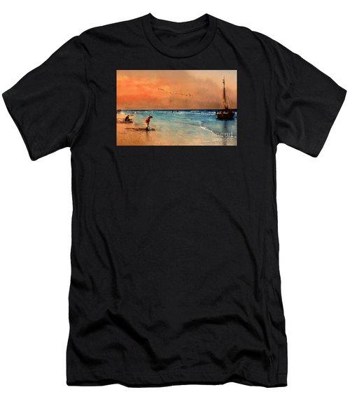 Scheveningen Men's T-Shirt (Athletic Fit)
