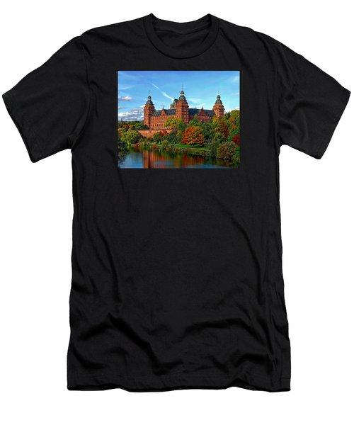 Men's T-Shirt (Athletic Fit) featuring the photograph Schloss Johannisburg by Anthony Dezenzio
