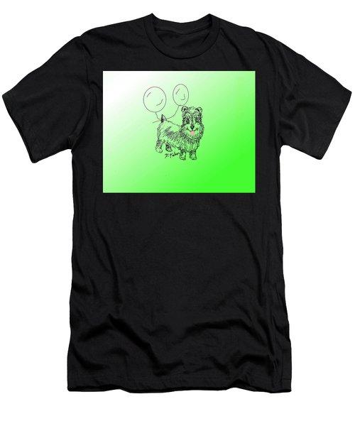 Schnauzer Men's T-Shirt (Athletic Fit)