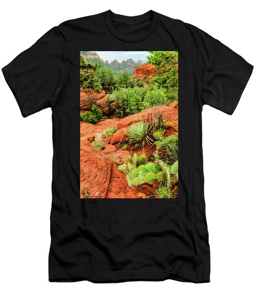 Schnebly Hill 07-057 Men's T-Shirt (Athletic Fit)