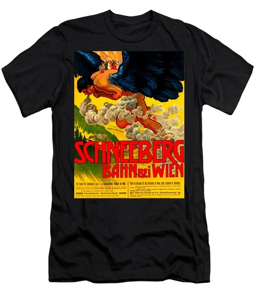 Schneeberg Bahn Bei Wien Railway Austria 1905 Men's T-Shirt (Athletic Fit)