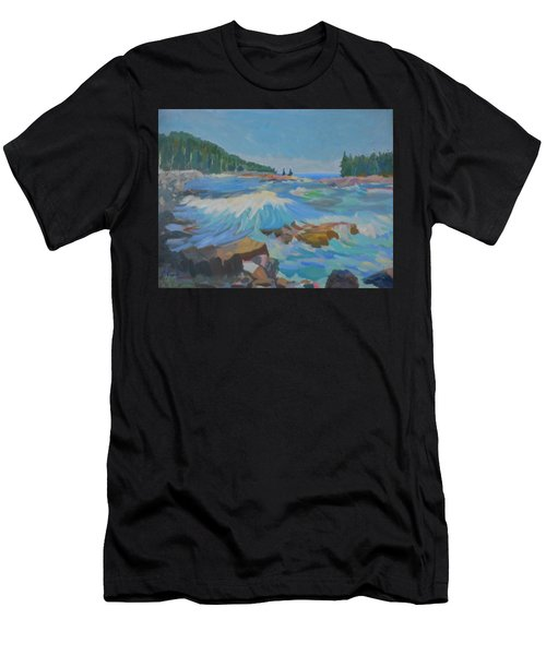Schoodic Inlet Men's T-Shirt (Athletic Fit)