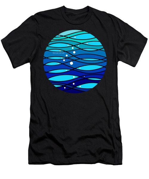 schOOlfish II Men's T-Shirt (Athletic Fit)