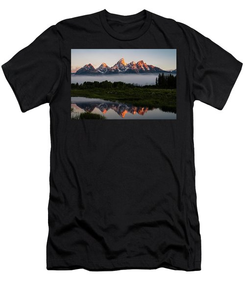 Schwabacher Landing Sunrise Men's T-Shirt (Athletic Fit)
