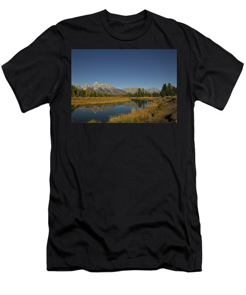 Schwabacher's Landing In Moonlight Men's T-Shirt (Athletic Fit)