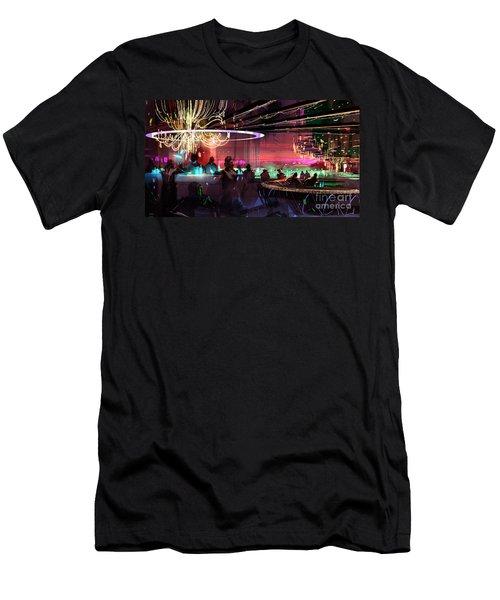 Sci-fi Lounge Men's T-Shirt (Athletic Fit)