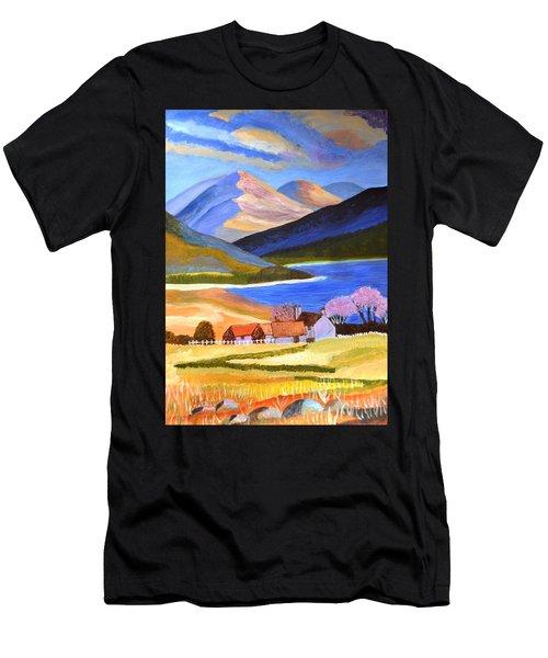 Scottish Highlands 2 Men's T-Shirt (Athletic Fit)