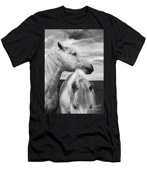 Scottish Horses Men's T-Shirt (Athletic Fit)