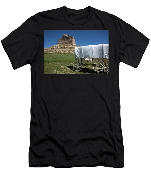 Scotts Bluff National Monument Nebraska Men's T-Shirt (Athletic Fit)