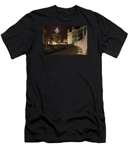 Scranton The Electric City Men's T-Shirt (Athletic Fit)