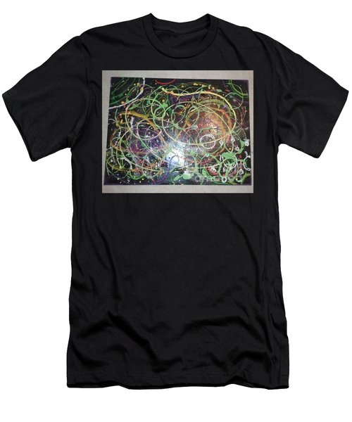 Scribble Men's T-Shirt (Athletic Fit)