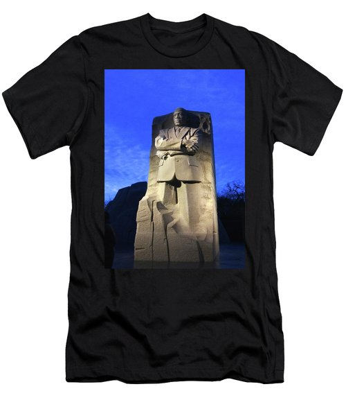 Sculptured Profile Martin Luther King Jr. Men's T-Shirt (Athletic Fit)