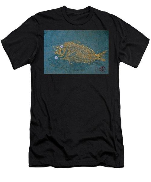 Scup / Porgie Shadow Men's T-Shirt (Athletic Fit)