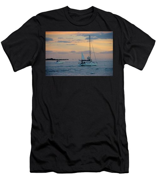 Sd Sunset 3 Men's T-Shirt (Athletic Fit)