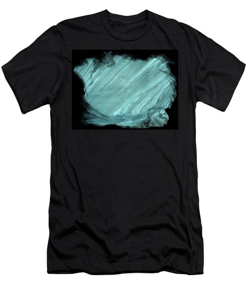 Men's T-Shirt (Slim Fit) featuring the photograph Sea Blue by Athala Carole Bruckner