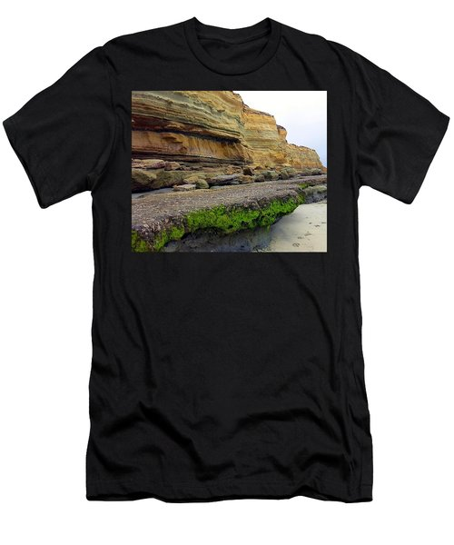 Sea Cliff Men's T-Shirt (Slim Fit) by Betty Buller Whitehead