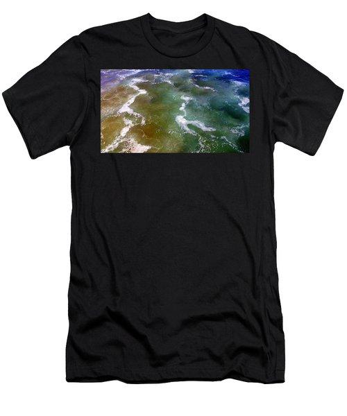 Creative Ocean Photo Men's T-Shirt (Athletic Fit)