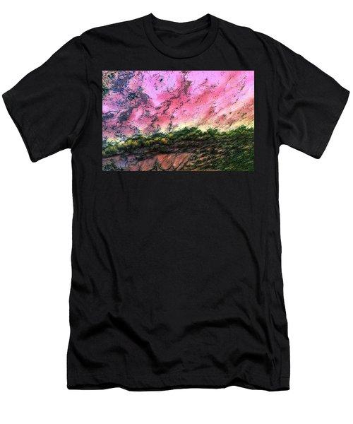 Sea Foam Art Men's T-Shirt (Athletic Fit)