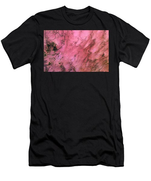 Sea Foam In Pink Men's T-Shirt (Athletic Fit)