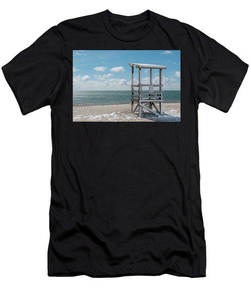 Sea Gull Beach #2 Men's T-Shirt (Athletic Fit)