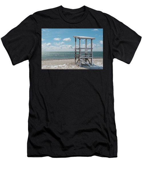 Sea Gull Beach #2 Men's T-Shirt (Athletic Fit)