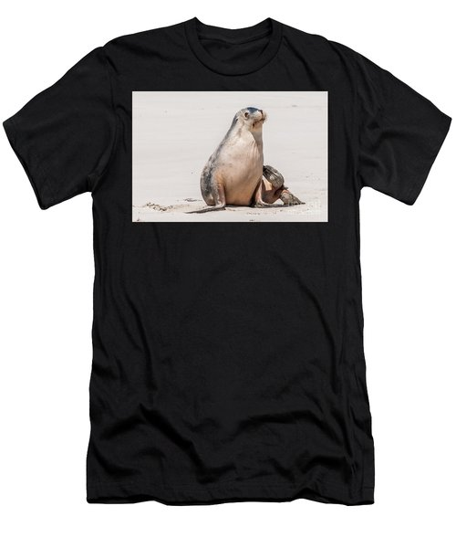 Sea Lion 1 Men's T-Shirt (Athletic Fit)