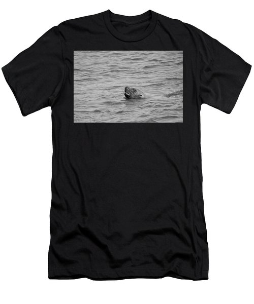 Sea Lion In The Wild Men's T-Shirt (Athletic Fit)