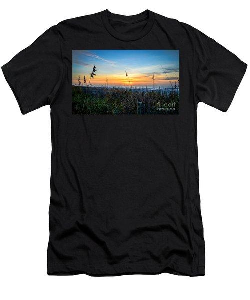 Sea Oats Sunrise Men's T-Shirt (Athletic Fit)