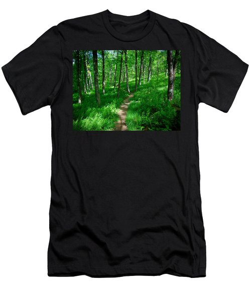 Sea Of Ferns Men's T-Shirt (Athletic Fit)