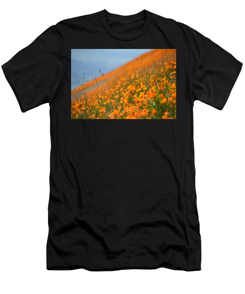 Sea Of Poppies Men's T-Shirt (Athletic Fit)