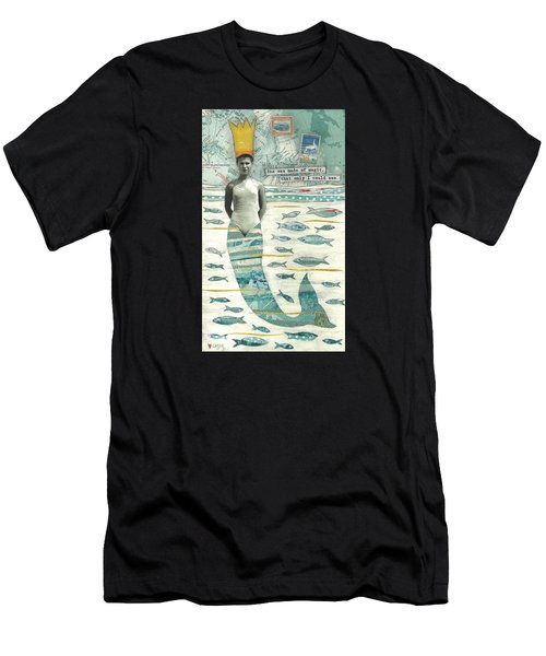Sea Queen Men's T-Shirt (Athletic Fit)