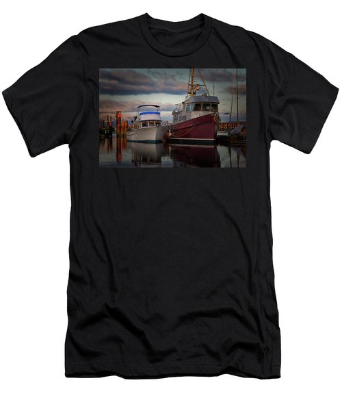 Men's T-Shirt (Slim Fit) featuring the photograph Sea Rake by Randy Hall